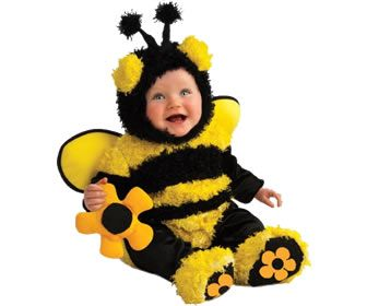 Buzzy bee costume