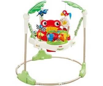 Rainforest Jumperoo –hyppykiikku